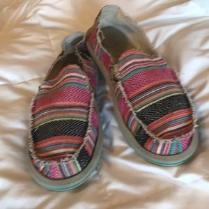 Sanuk Multi Color Shoe